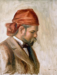 Portrait of Ambroise Vollard in a Red Headscarf
