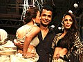 Amrita Arora & Malaika Arora Khan at Vikram Phadnis' show at Lakme Fashion Week 2012 - Day 5.jpg