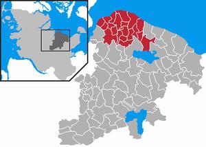 Probstei - Image: Amt Probstei in PLOE