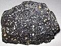 Amygdaloidal basalt (Portage Lake Volcanic Series, upper Mesoproterozoic, 1.093 to 1.097 Ga; Keweenaw Peninsula, Upper Peninsula of Michigan, USA) 20.jpg
