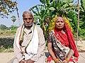 An elderly couple belonging to Koeri caste.jpg