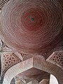 Ancient Mosque Dome interior - Shah Jahan Mosque.jpg