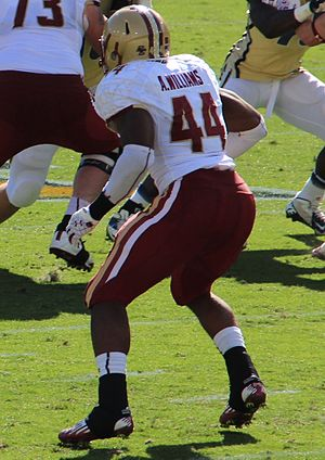 Andre Williams (American football) - Williams during his tenure at Boston College.