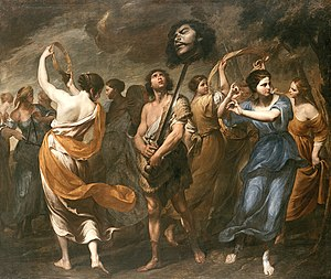 Andrea Vaccaro - The Triumph of David