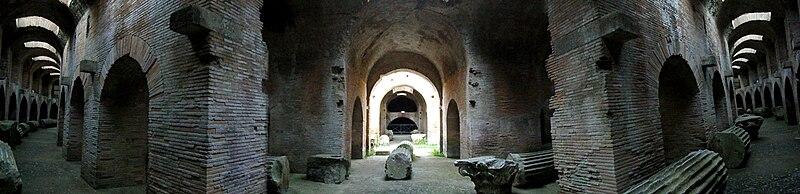 File:Anfiteatro Flavio - underground.jpg