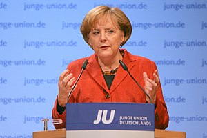 German Chancelor Dr. Angela Merkel