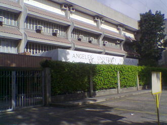 Angeles University Foundation - Angeles University Foundation Barbara Yap Angeles Building's main facade