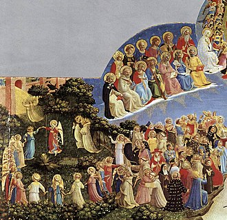 The Last Judgment (Fra Angelico, Florence) - Image: Angelico, giudizio universale 01