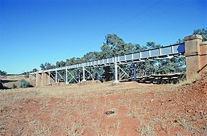 Sommariva, Queensland - Angellala Rail Bridge, 1994