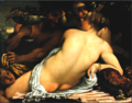 Annibale Carracci (or copy after), Venus, Satyr and Cupids, Chrysler Collection.png
