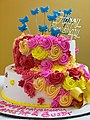 Anniversary cake - Hangouts bakery - Andhrapradesh - 004.jpg