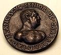 Anonimo padovano, medaglia di francesco I da carrara, 1550-1600 ca..JPG