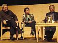 Ansary, Ghilzai & Qayoumi at SF Public Library 10-15-08.JPG