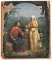 Anton Dorph - Olieskitse til Jesus og Samaritanerinden ved brønden - KKSgb12453 - Statens Museum for Kunst.jpg
