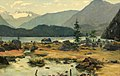 Anton Hlavacek (circle) - Rocky Landscape with River.jpg