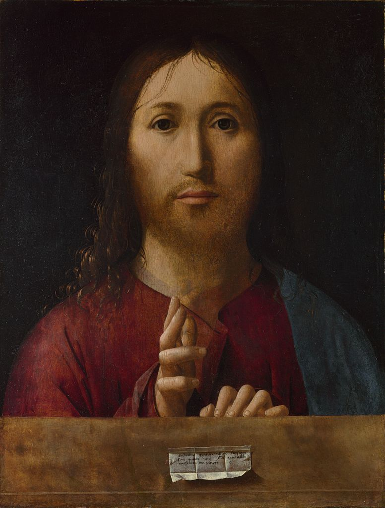Leonardo Da Vinci Salvator Mundi Wikipedia >> File:Antonello da Messina 061.jpg - Wikimedia Commons