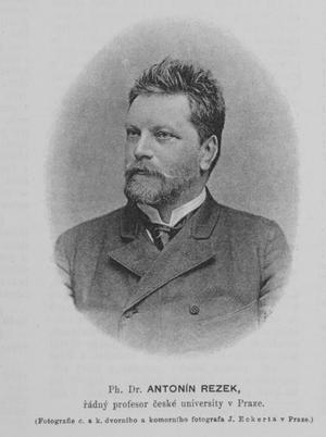 Antonín Rezek - Antonín Rezek.