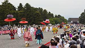 Aoi Matsuri - The Aoi Matsuri (Festival) in Kyoto, departing from Kyoto's Imperial Gardens