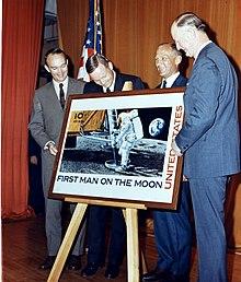 U S  space exploration history on U S  stamps - Wikipedia