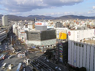 Okayama - View near Okayama Station