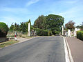 Approaching the level crossing on Chapel Road - geograph.org.uk - 1497840.jpg