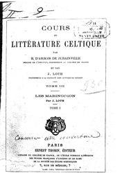 Henri d'Arbois de Jubainville: Cours de littérature celtique
