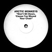 "Cover of the 7"" white label single"