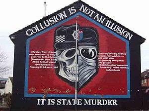 Belfast murals Ardoyne - Ardoyne's claim that ...