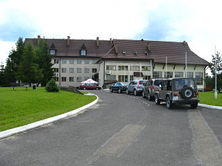 Arłamów Village in Subcarpathian Voivodeship, Poland