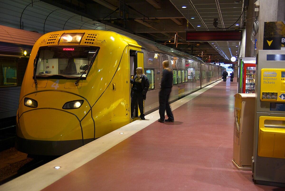 Arlanda Express - Wikipedia