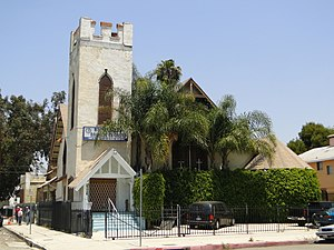 27th Street Historic District - Since 1906, the Gothic Revival church at 1001 E. 28th Street has served white, Armenian, African-American, and Hispanic congregations.