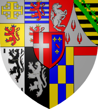 House of Savoy-Carignano - Coat of arms of the Princes of Carignano