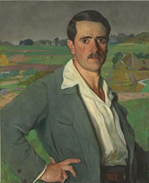 Arnold Lakhovsky - Self-portrait of Lakhovsky