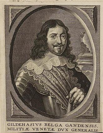 "Gilles De Haes - Portrait of ""Gildehasius"" from the Arolsen Klebeband"