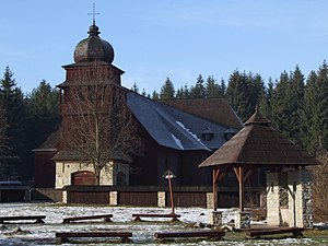 Articular church - Image: Artikulárny kostol Svätý Kríž