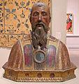 Artista italiano, busto-reliquiario di san benedetto da norcia, 1490 ca..JPG