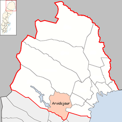 Arvidsjaur Municipality in Norrbotten County.png