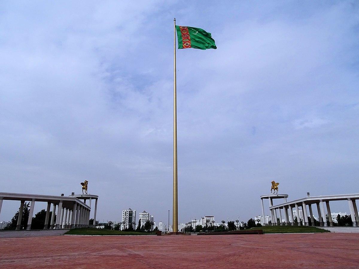 Ashgabat Flagpole