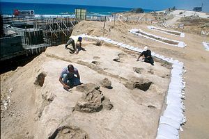 Ashkelon - Archaeological site with artifacts from the Neolithic era