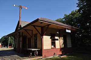 National Register of Historic Places listings in Grafton County, New Hampshire - Image: Ashland NH RR Station