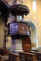 Asmara, cattedrale cattolica, interno, pulpito.JPG