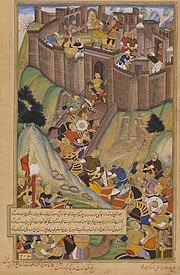La Fortaleza Hashshashin de Alamut.