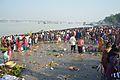 Assembled Devotees - Chhath Puja Ceremony - Baja Kadamtala Ghat - Kolkata 2013-11-09 4244.JPG