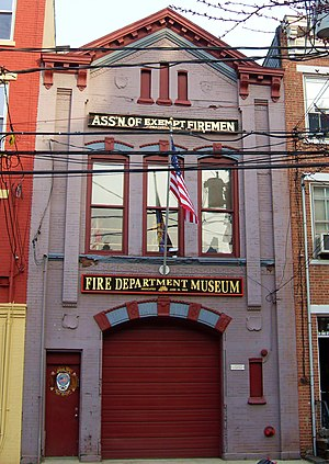 National Register of Historic Places listings in Hudson County, New Jersey - Image: Association of Exempt Firemen Building