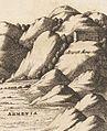 Athanasius Kircher Arca Noë (1675) Topographia paradisi.jpg