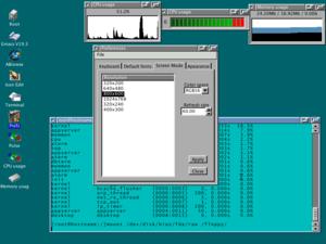 AtheOS - Image: Atheos screenshot