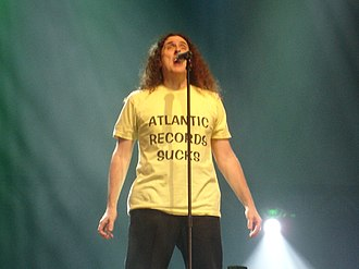 "Ray of Light (song) - ""Weird Al"" Yankovic (pictured) was the first recording artist to cover ""Ray of Light"" and included it on his medley ""Polka Power!"" in 1999."