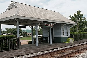 Atmore, Alabama - Former Atmore Amtrak station