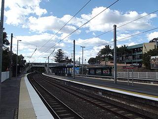 Auchenflower railway station railway station in Brisbane, Queensland, Australia