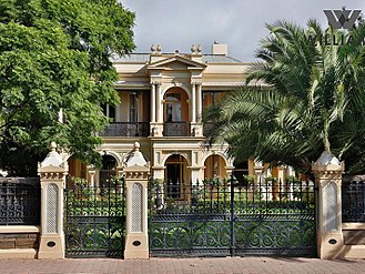 Prospect, South Australia - Audley House, a Victorian mansion at 32 Prospect Road on the southern border of Prospect, was built in 1885.